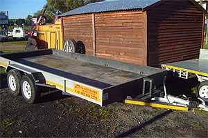 Flatbed Car Transporter